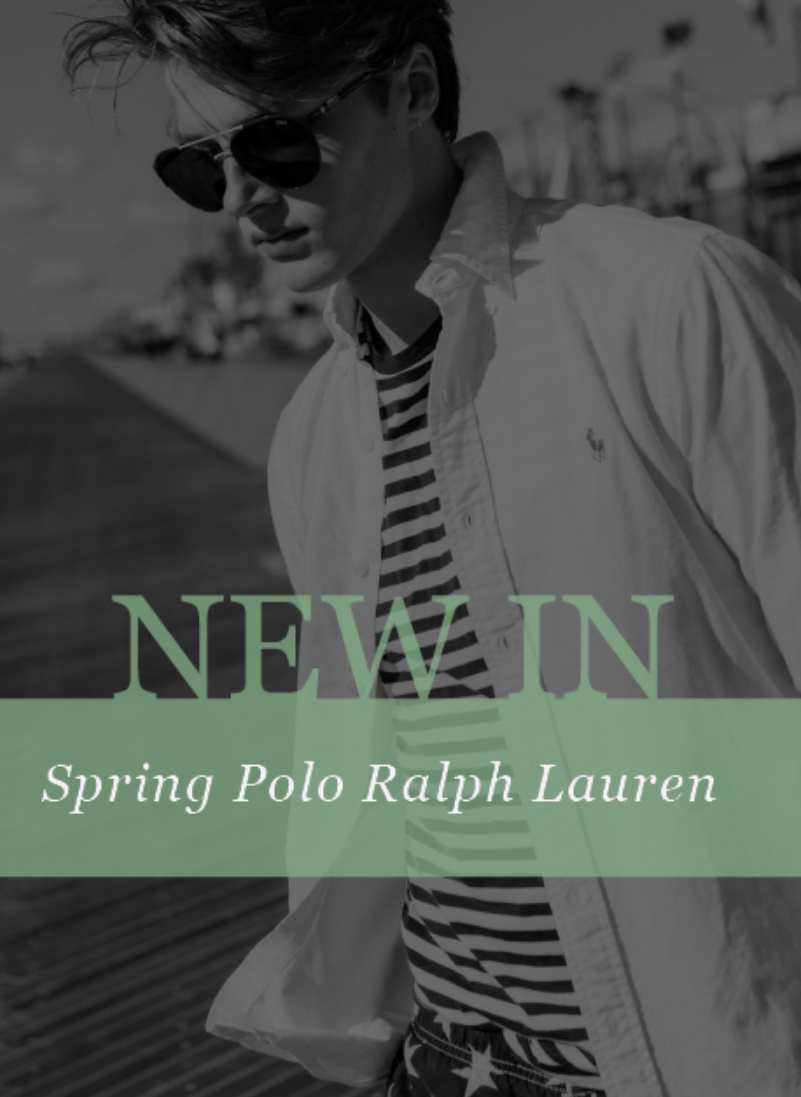 The preppy look of Polo Ralph Lauren has been a stalwart of the well-dressed man's wardrobe for deca...