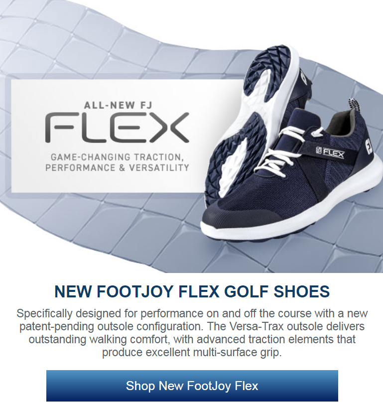 Specifically designed for performance on and off the course with a new patent-pending outsole config...