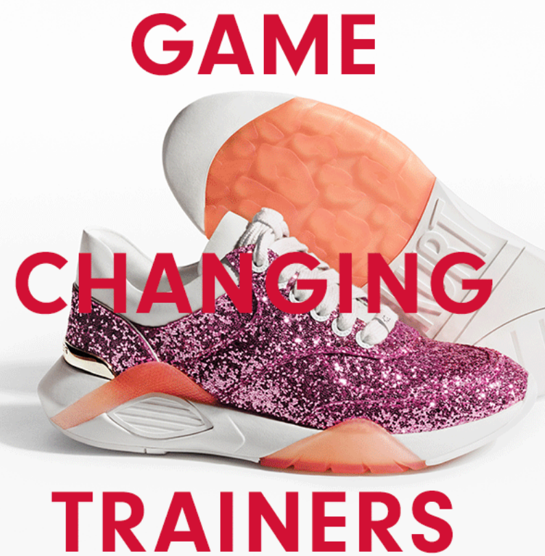 From metallic & embellished low top trainers to slip on studded trainers, shop early & make sure wha...