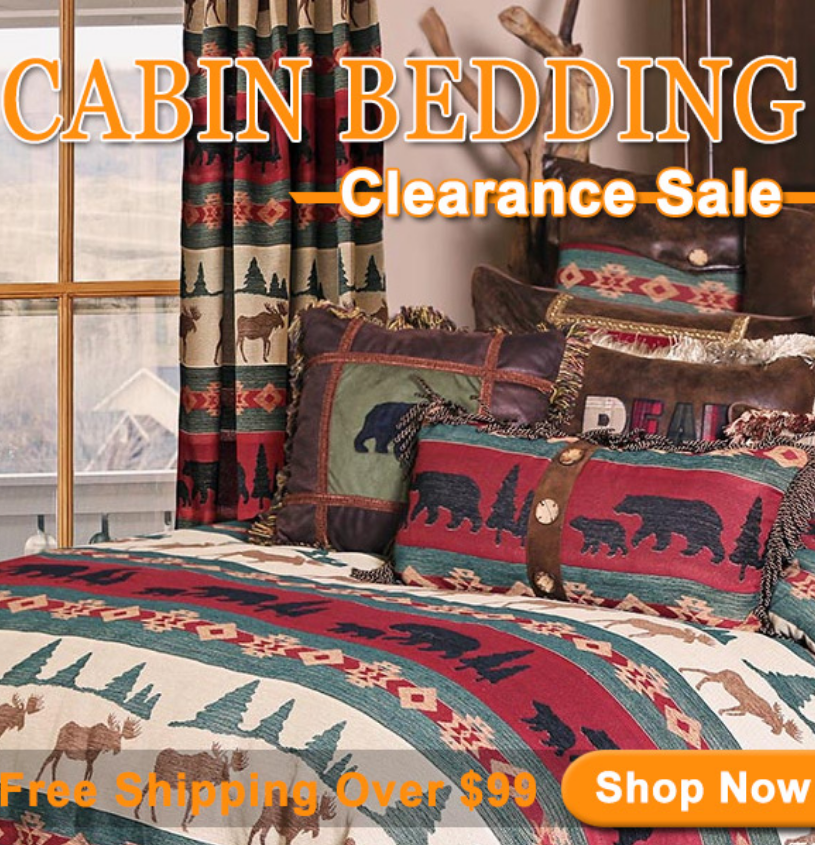 Discover great deals on cabin and rustic bedding. Shop early & make sure what you snag is that you l...
