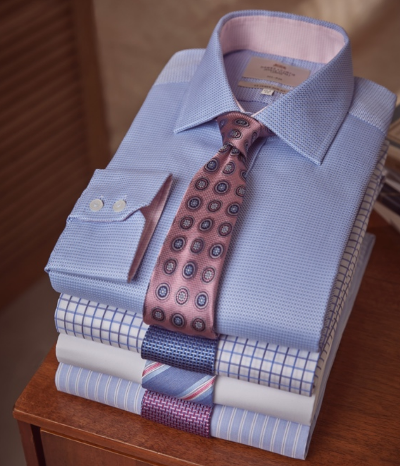 The formal shirts for men are exquisitely crafted from the finest 2 ply 100s cotton which has been p...